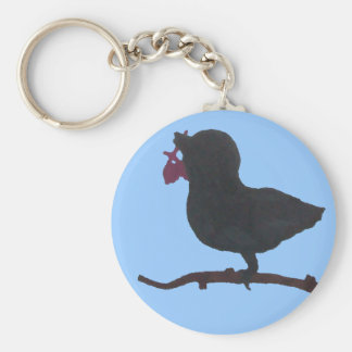 若い鳥Keychainの見通し キーホルダー