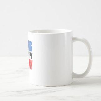 若い コーヒーマグカップ