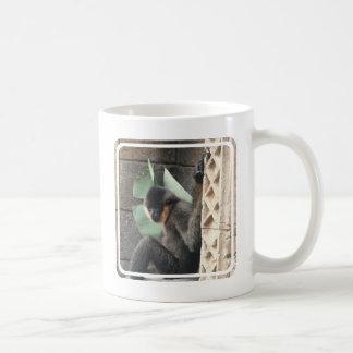 若いCapuchin猿 コーヒーマグカップ