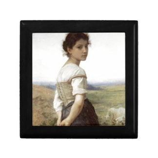若いShepherdess -若い女の子 ギフトボックス