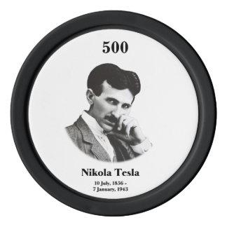 若いTesla ポーカーチップ