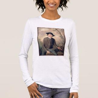 若者の破壊の魚1782年(パネル) 長袖Tシャツ