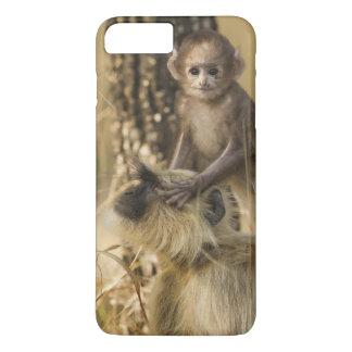 若者を持つHanumanのヤセザルの大人 iPhone 8 Plus/7 Plusケース
