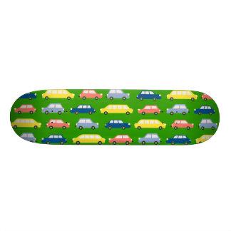 若草色の速度は車のスケートボードを好みます スケートボード