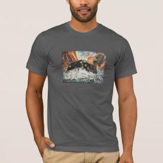 苦境を通して Tシャツ