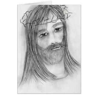 苦悶のイエス・キリスト カード
