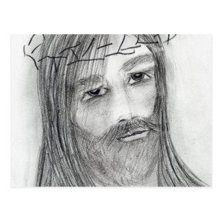 苦悶のイエス・キリスト ポストカード