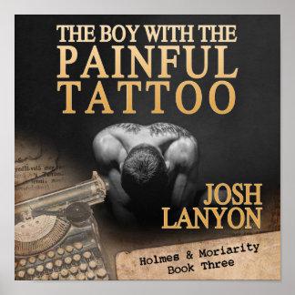 苦痛な入れ墨を持つ男の子 ポスター