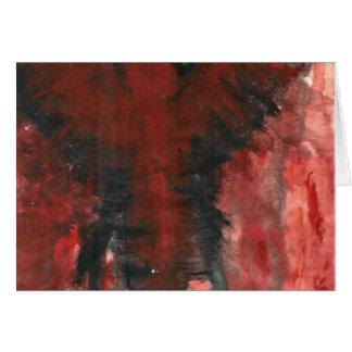 苦痛の深紅色の天使 カード
