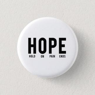 苦痛の端の希望の…把握 3.2CM 丸型バッジ