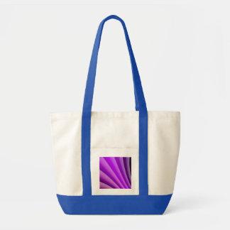 苦痛の芸術の紫色の波 トートバッグ