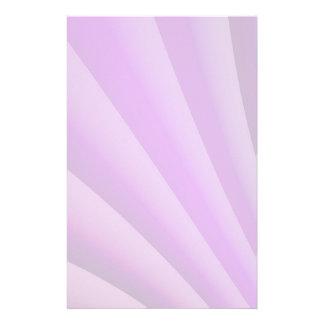 苦痛の芸術の紫色の波 便箋