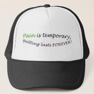 苦痛は一時的で、最後を永久にやめます! キャップ