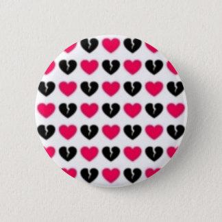 苦痛または失恋ボタン 5.7CM 丸型バッジ
