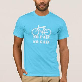 苦痛無し利益サイクリングのTシャツ無し Tシャツ