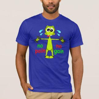 苦痛無し利益外国の重量挙げのTシャツ無し Tシャツ