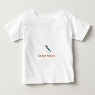 苦痛無し利益無し ベビーTシャツ