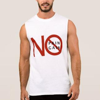 苦痛無し利益無し 袖なしシャツ