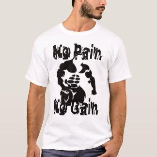 苦痛無し利益筋肉ワイシャツ無し Tシャツ