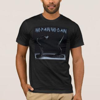 苦痛無し利益重量挙げのワイシャツ無し Tシャツ