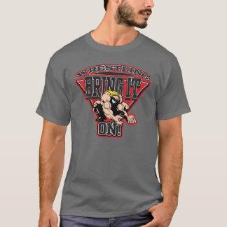 苦闘することはそれを持って来ます Tシャツ