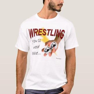 苦闘すること -- これらを必要とします Tシャツ