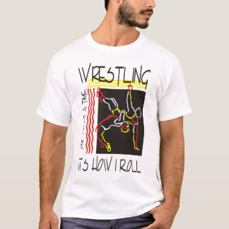 苦闘すること Tシャツ