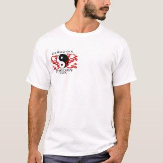 苦闘によって打たれるギア Tシャツ