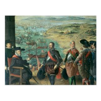 英国に対するカディス、1634年の防衛 ポストカード