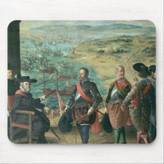 英国に対するカディス、1634年の防衛 マウスパッド