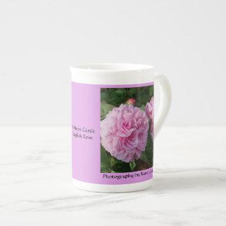 英国のばら色の司教の城の(ピンクの)骨灰磁器を襲って下さい ボーンチャイナカップ