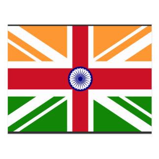 英国のインディアンIndentity、インド ポストカード