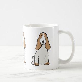 英国のコッカースパニエル犬の漫画 コーヒーマグカップ