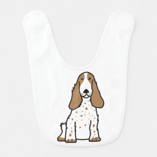 英国のコッカースパニエル犬の漫画 ベビービブ
