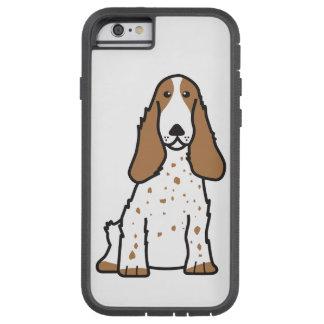 英国のコッカースパニエル犬の漫画 TOUGH XTREME iPhone 6 ケース