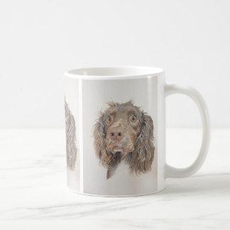 英国のコッカースパニエルart. コーヒーマグカップ