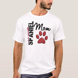 英国のスプリンガースパニエルのお母さん2 Tシャツ