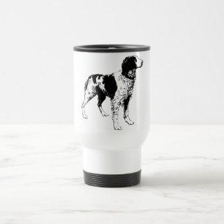 英国のスプリンガースパニエルのスポーツのな飼い犬 トラベルマグ