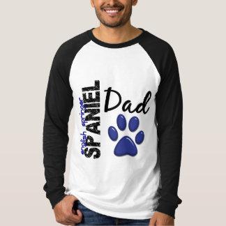 英国のスプリンガースパニエルのパパ2 Tシャツ