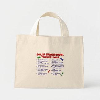 英国のスプリンガースパニエルの特性の法律2 ミニトートバッグ