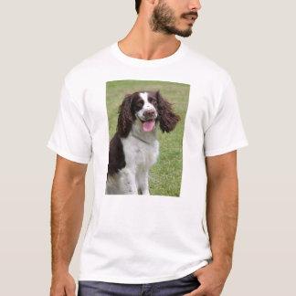 英国のスプリンガースパニエルのdogunisexのTシャツ Tシャツ
