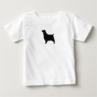英国のスプリンガースパニエル ベビーTシャツ