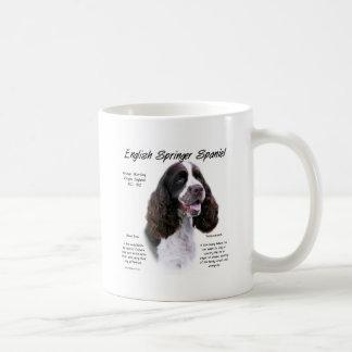 英国のスプリンガースパニエル(レバー)の歴史のデザイン コーヒーマグカップ