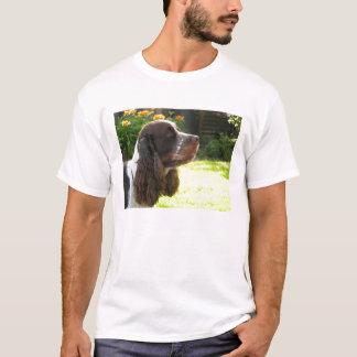英国のスプリンガースパニエル Tシャツ
