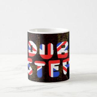 英国のダビングのステップ コーヒーマグカップ