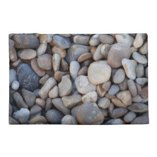 英国のビーチの小石旅行バッグ トラベルアクセサリーバッグ