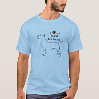 英国のブルテリアのTシャツ Tシャツ