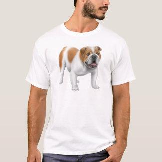 英国のブルドッグのTシャツ Tシャツ