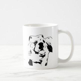 英国のブルドッグ-相撲 コーヒーマグカップ