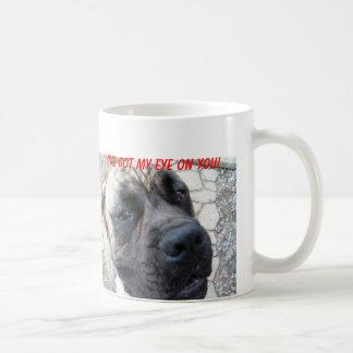 英国のマスティフのマグ コーヒーマグカップ
